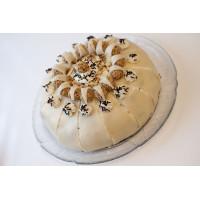 VANILLA CREAM CHEESE CAKE