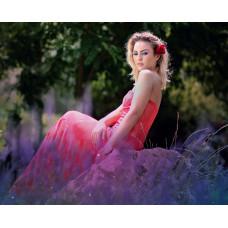 Jeweled Strapless Dress