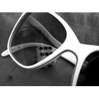 Oversized White Sunglasses