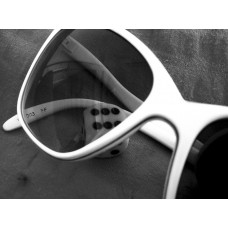 Oversized White Sunglasses
