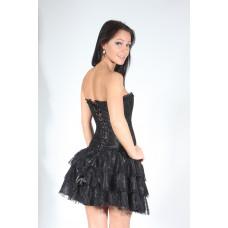 Beige Ruffle Dress